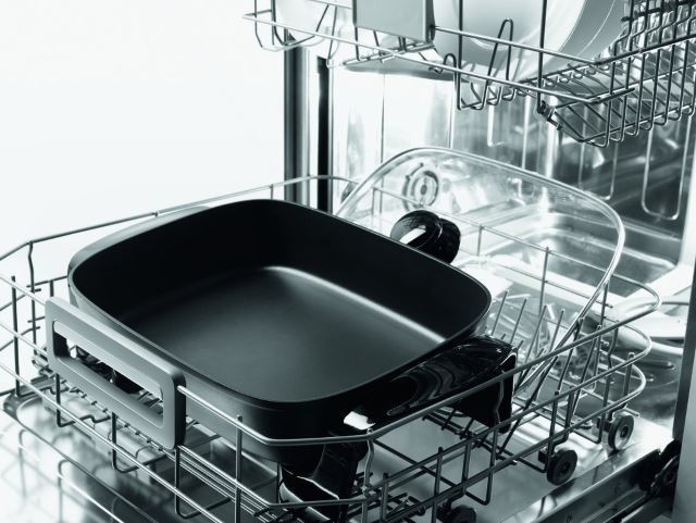 delonghi electric skillet in the dishwasher