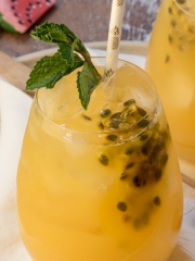 Passion Fruit and Ginger Mojitos 2