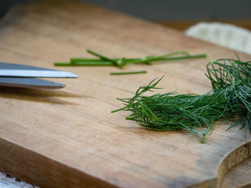 How to Chop Dill - Step 5 image. inthekitch.net