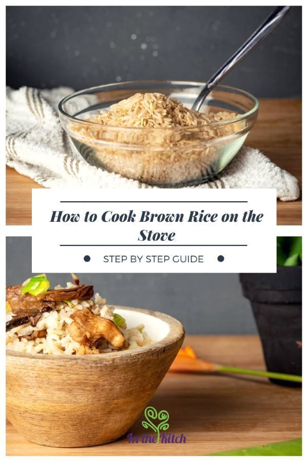 How to Cook Brown Rice on the Stove - Step by Step Guide