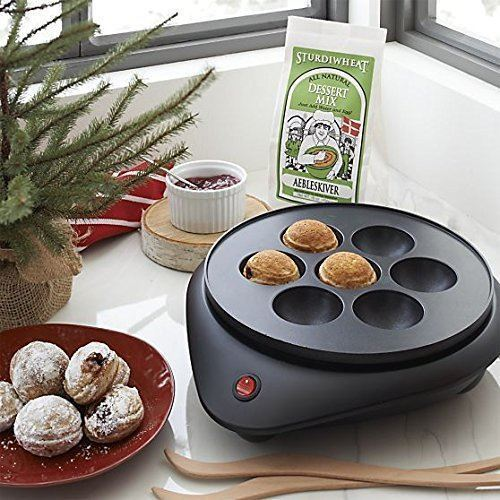 Cucinapro Electric Cooker for Donut Holes and Cake Pops
