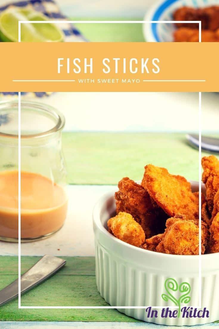 Fish Sticks with Sweet Mayo