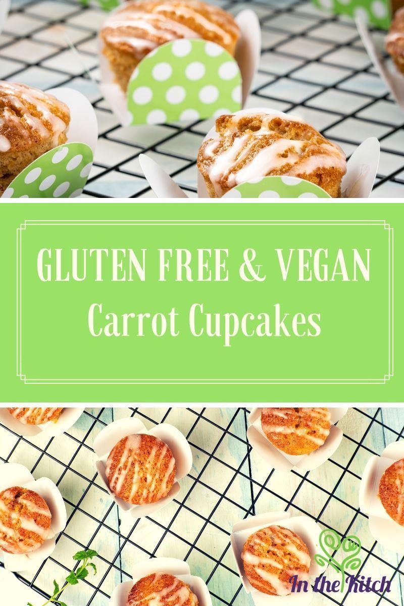 Gluten Free & Vegan Carrot Cupcakes