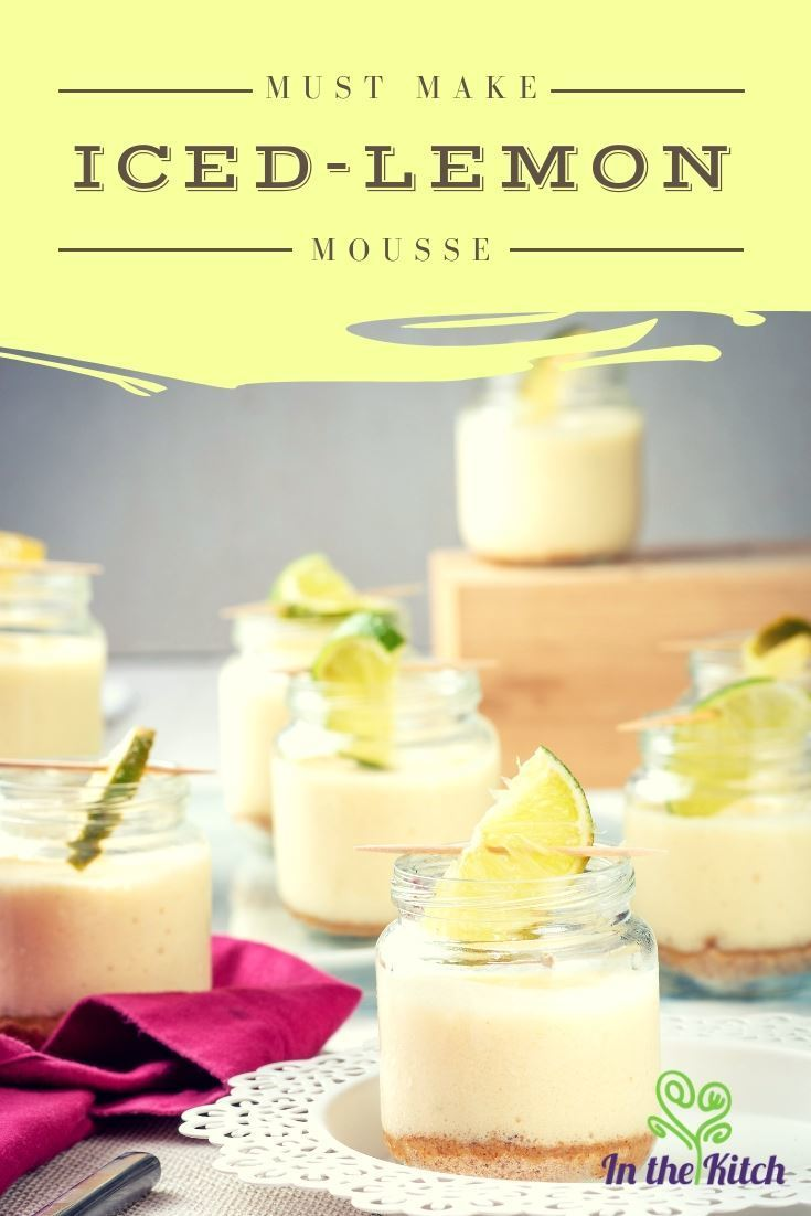 Iced Lemon Mousse