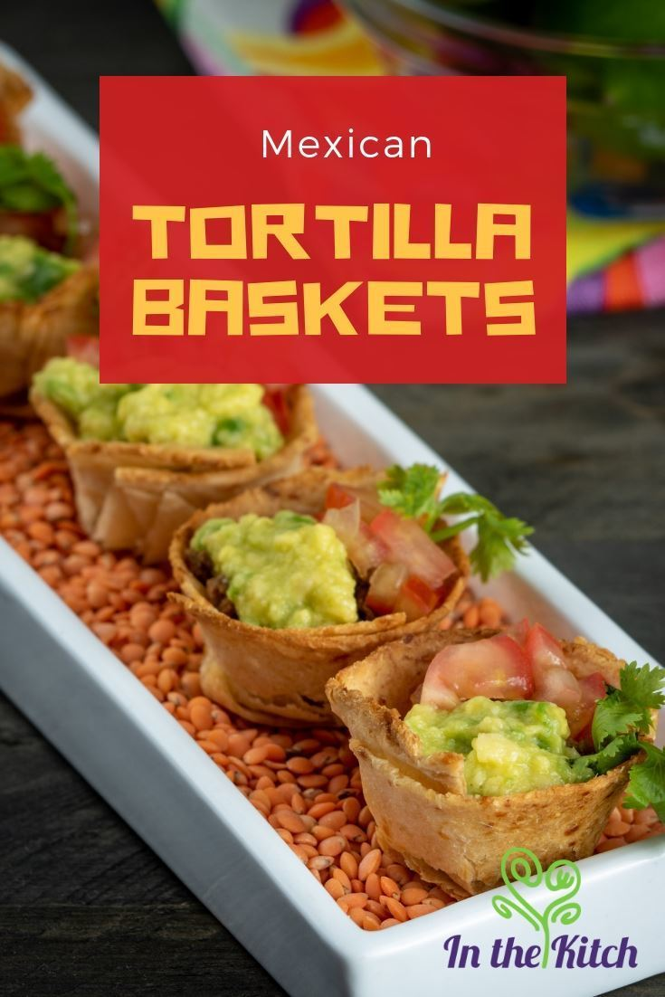 Mexican Tortilla Baskets