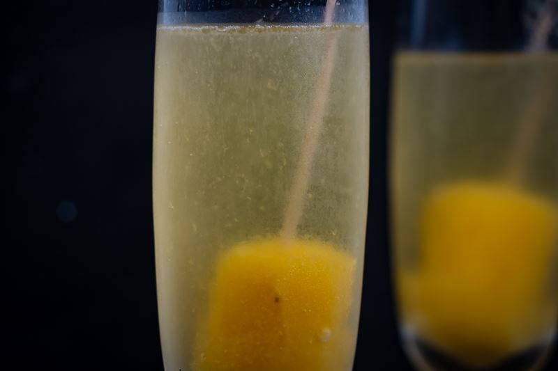 Peach Pop Bellini