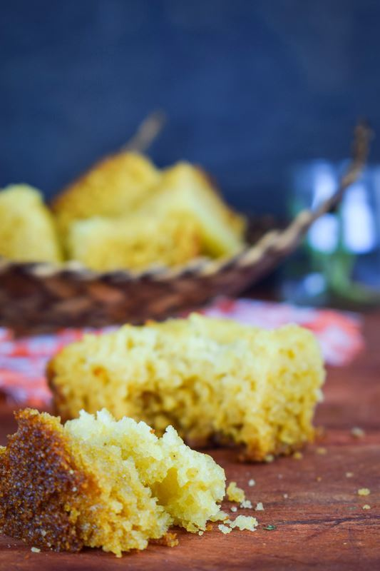 Electric Skillet Corn Bread