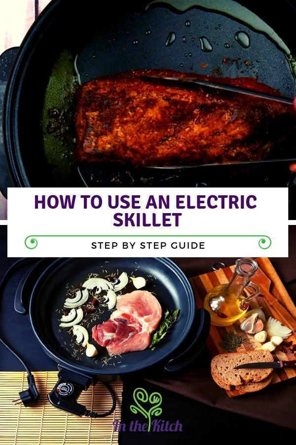 How to Use an Electric Skillet