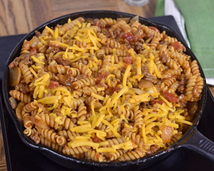 Sloppy Joe Noodle Skillet