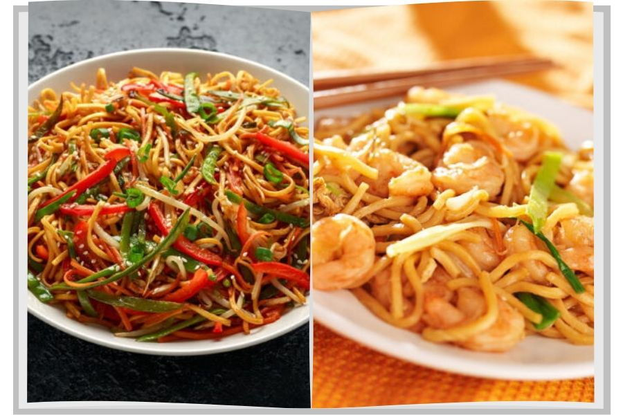 What Is The Difference Between Chow Mein And Lo Mein In The Kitch