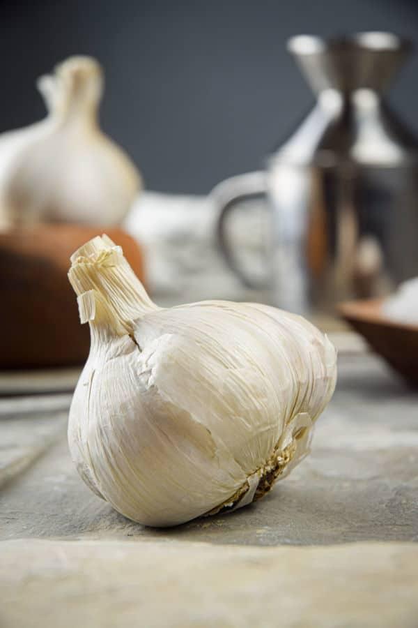 Garlic head.