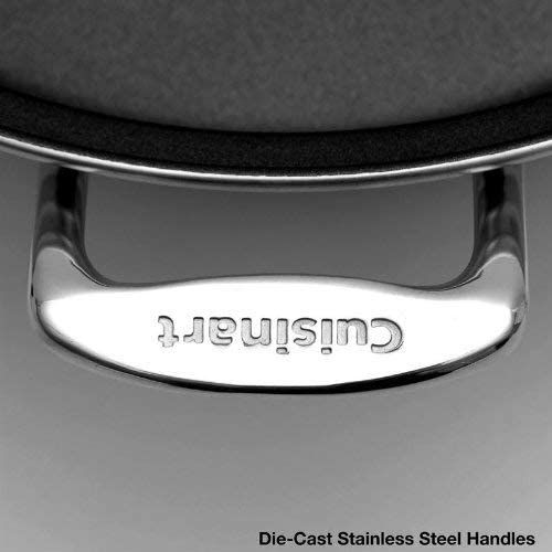 Cuisinart CSK-150 stainless steel electric frying pan handles